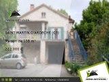 Maison A vendre Saint martin d'ardeche 138m2 + Terrain 345m2