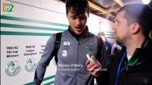 Kieran O'Hara speaks with Irish Football Fan TV   Ireland U21 1 Azerbaijan U21 0  
