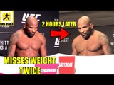 IT'S OFFICIAL! Yoel Romero has Missed Weight for Fíght vs Robert Whittaker,UFC 225 Early W-ins