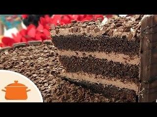 Massa de Chocolate Para Bolo de Aniversário - Receita fácil