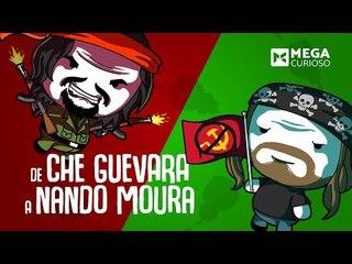 Nando Moura e Che Guevara ligados a apenas 5 apertos de mão?