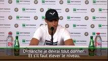 """Roland Garros : Nadal : """"Je devrai jouer mon meilleur tennis pour battre Thiem"""""""