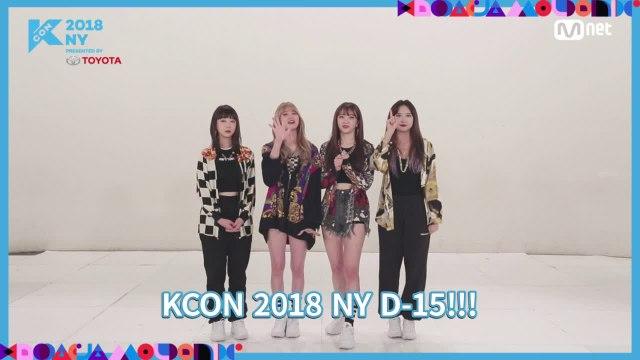 """[KCON 2018 NY] STAR COUNTDOWN D-15 """"EXID"""""""