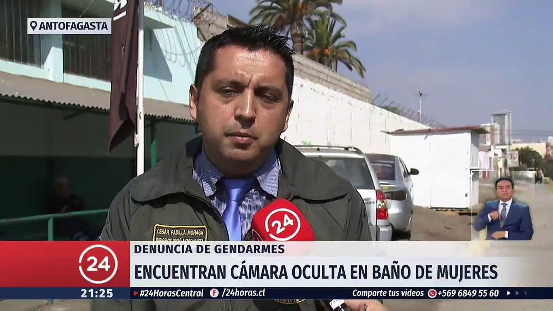 Camara Oculta Mujeres encuentran cámara oculta en baño de mujeres de gendarmería de antofagasta