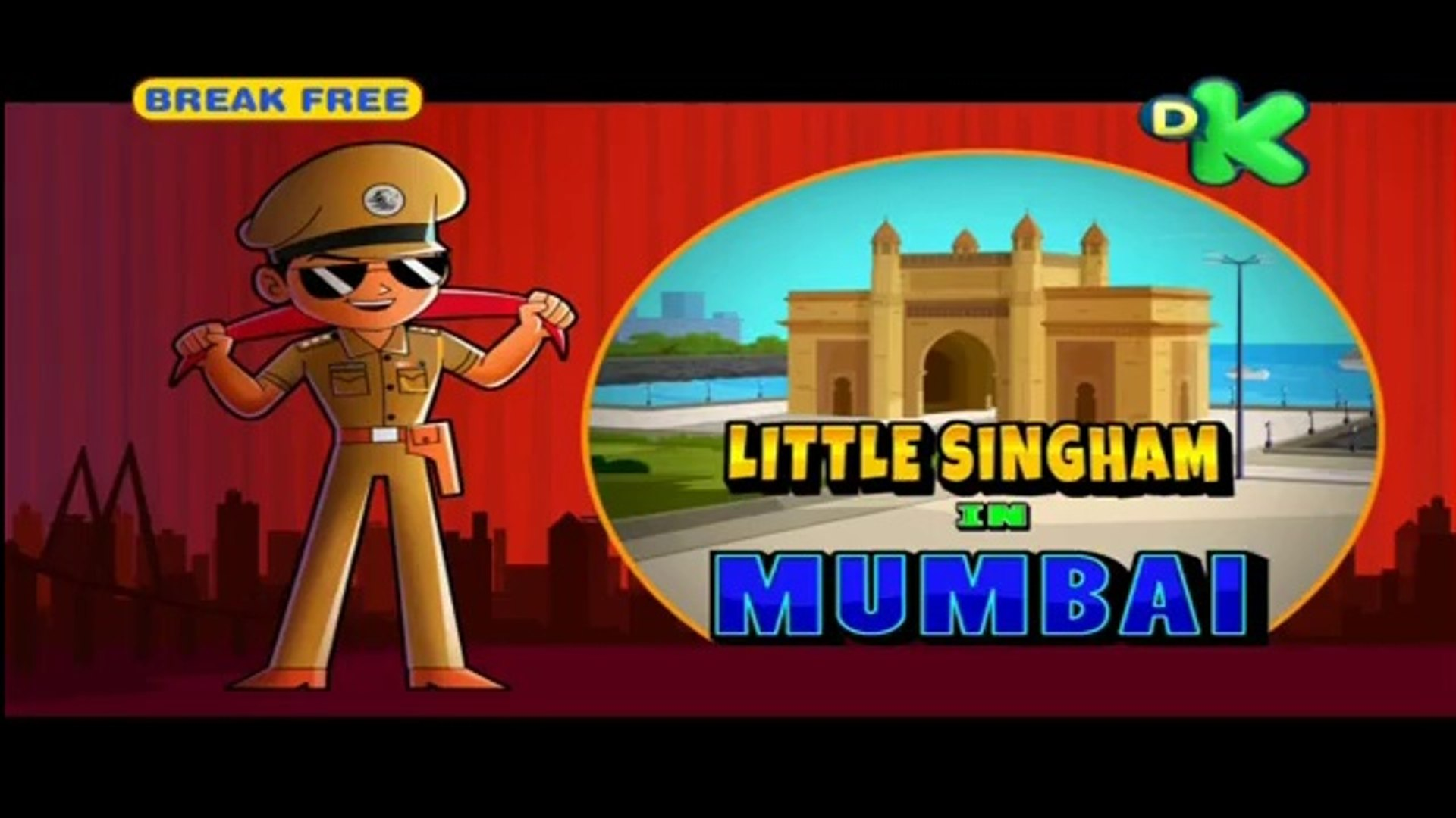 Little Singham In Mumbai - Little Singham - In HINDI - Animated Cartoon For  Kids - As Seen On Discovery Kids