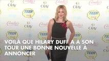 Hilary Duff annonce être enceinte de son second enfant