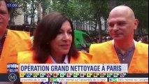 """Anne Hidalgo répond à Jack Lang sur la propreté à Paris : """"Il y a des gens dans la dénonciation et d'autres dans l'action. Moi je suis dans l'action"""""""