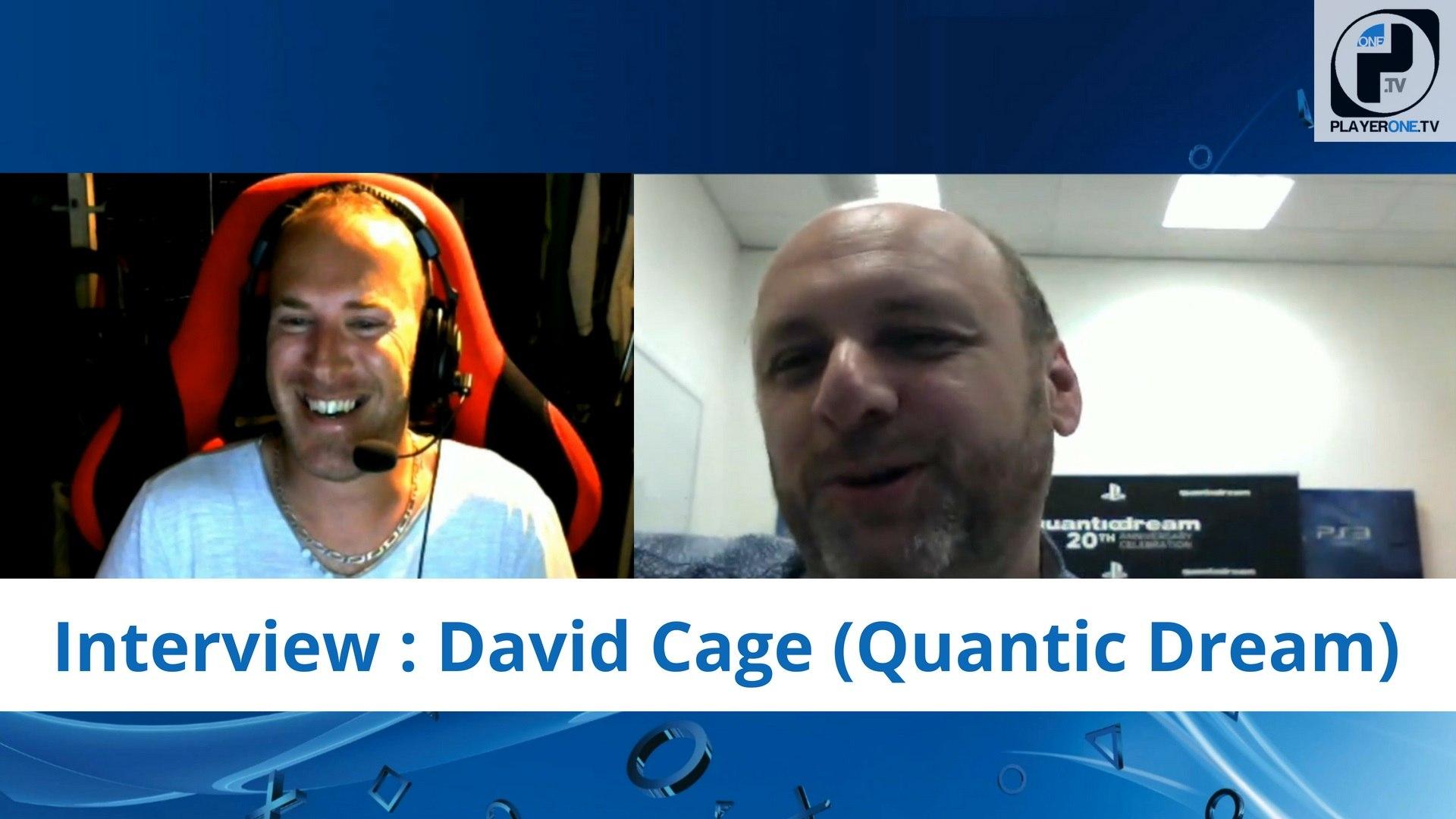 Reportage - Interview de David Cage : L'avant et l'après Detroit: Become Human chez Quanti