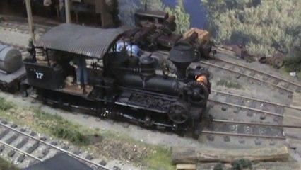 Amerikanische Modellwaldbahn Flensburger Dampfrundum American Model Timber Line Part 02