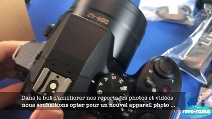 L'appareil photo Bridge 4K Wifi : Panasonic Lumix FZ300