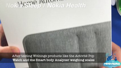 Thermo, BPM and Nokia's Sleep for monitoring your sleep pattern, temperature and blood pressure!