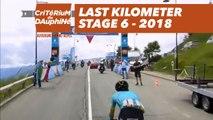 Last kilometer - Étape 6 / Stage 6 (Frontenex / La Rosière) - Critérium du Dauphiné 2018