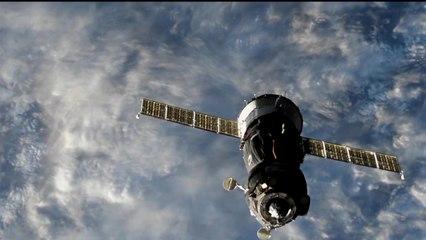 Docking of Soyuz MS-09 to the International Space Station
