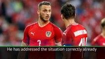 Arnautovic is '100 per cent' fit, insists Austria coach