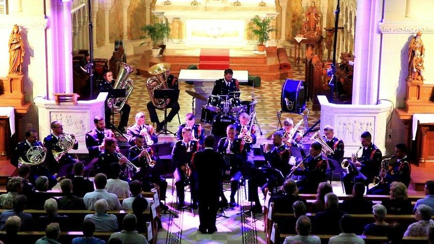 Extraits du concert de la Fanfare du 27ème B.C.A.   Église de l'Emm (Metzeral-Sondernach),  6 juin 2018