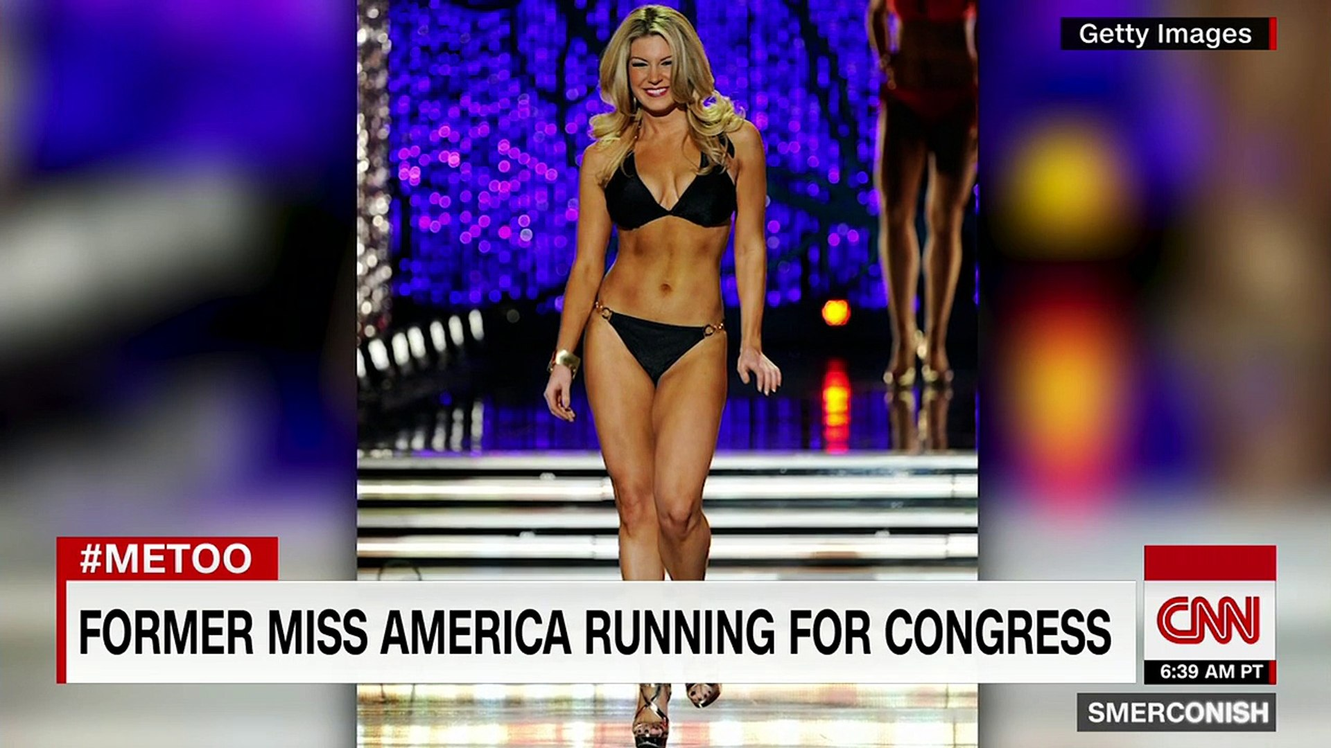 Miss America runs for Congress