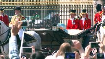 Queen greets crowds at Trooping the Colour parade