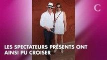 PHOTOS. Roland-Garros 2018 : Hugh Grant et son épouse Anna Eberstein complices et amoureux
