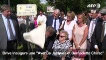 """Brive inaugure une """"Avenue Jacques et Bernadette Chirac"""""""