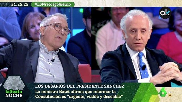 Eduardo Inda pone en su sitio a Javier Sardá