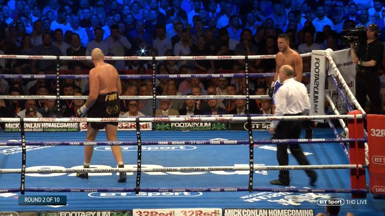 Tyson Fury vs Sefer Seferi (09-06-2018) Full Fight