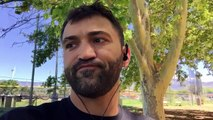 """Andrei """"The Pit Bull"""" Arlovski shares with us some behind the scenes from his training camp. Things you don't get to see in the #UFC Embedded Blogs for #UFC191"""