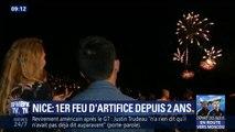 Nice retrouve sa tradition des feux d'artifice deux ans après l'attentat sur la Promenade des Anglais