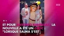 Affaire Weinstein : Salma Hayek a gardé le silence pour protéger Antonio Banderas