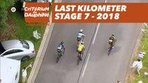 Last kilometer - Étape 7 / Stage 7 (Moûtiers / Saint-Gervais Mont Blanc) - Critérium du Dauphiné