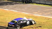 TOP 16 of Hardest CRASHES Nürburgring Nordschleife FAIL Compilation M3 CSL Audi R8 Spa Francorchamps