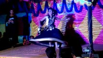 indian village wedding dance performance in Stage by one