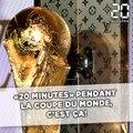 «20 Minutes» pendant la Coupe du monde, c'est ça!