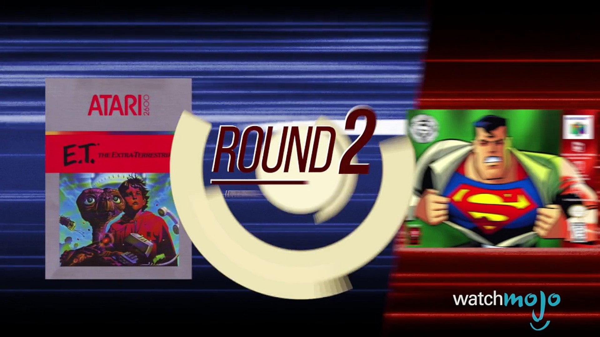 Superman 64 VS E.T. Atari: Battle for the Worst Game Ever