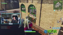 I PLAYED FORTNITE IN NINJAS ROOM Then this happens..