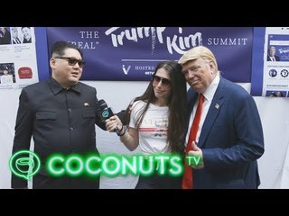 TRUMP KIM SUMMIT | Impersonator Madness in Singapore | Coconuts TV