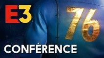 E3 2018 : La conférence Bethesda (Fallout 76, The Elder Scrolls 6,...)