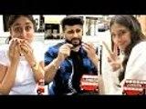 Kareena Kapoor Khan Caught Eating Pizza By Rhea Kapoor In London | Bollywood Buzz