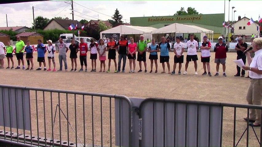 Présentation des finalistes, France Combiné Jeunes 2018, Digoin 2018