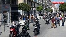 Rennes. Les motards ont du cœur : 10 000 € collectés pour les Restos