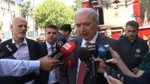 İstanbul Büyükşehir Belediye Başkanı Mevlüt Uysal: 'Elektrik kontağından olması yüksek. Yangın kontrol altına alındı.'