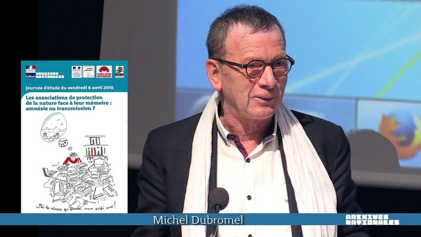 Vidéo 01 - Michel Dubromel, président de France Nature Environnement