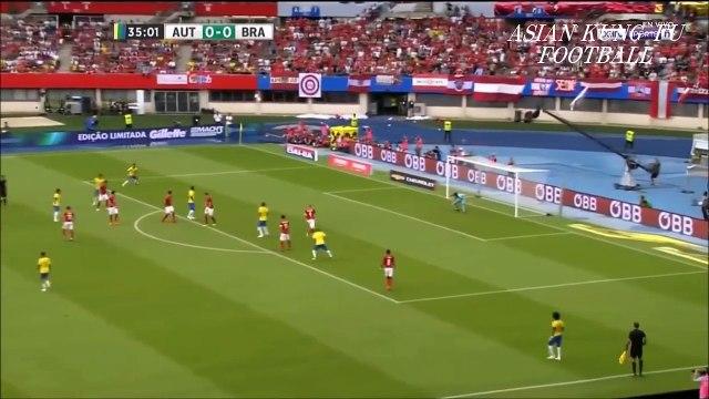ネイマール またもスーパーゴール!ブラジル圧勝!ガブリエウ・ジェズス、コウチーニョもゴール!ブラジルxオーストリア【ハイライト】