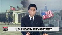 Trump open to putting U.S. embassy in Pyongyang: Axios