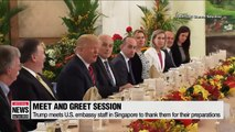One day until summit but Kim and Trump's schedules under wraps