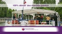 100% démat' des marchés publics - 1er Octobre 2018 par Daniel COISSARD – Directeur du GIP Maximilien