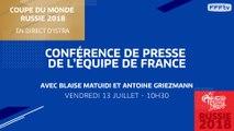 Équipe de France : le point presse de Matuidi et Griezmann en direct (10h30)