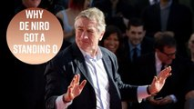 Mystery solved: What De Niro said at the Tony Awards