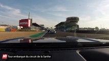 Circuit du Mans : un tour embarqué en Ford Mustang GT