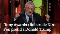Les insultes de Robert de Niro contre Donald Trump coupées à la télévision américaine