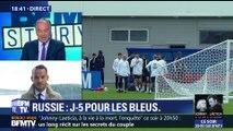 Coupe du monde 2018: première séance d'entraînement sur le sol russe pour les Bleus